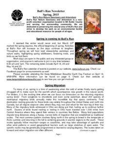 BRNSA Newsletter - Spring 2015-thumbnail